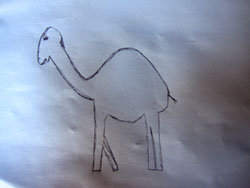 Post image for Remedial Camel Drawing Episode 1: Patrice from Cameroon